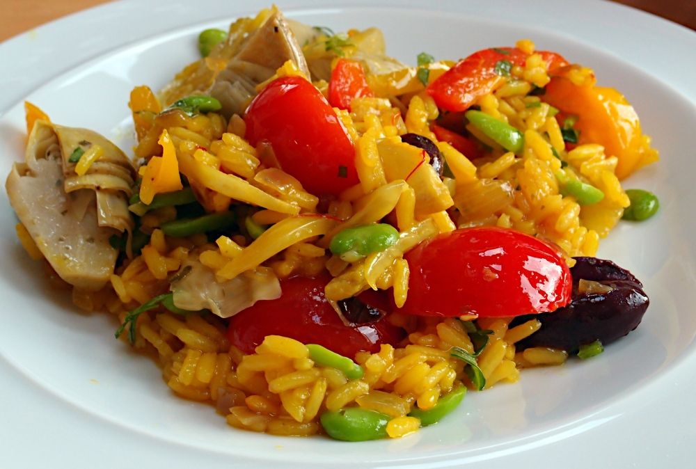 Ottolenghi Vegetable Paella